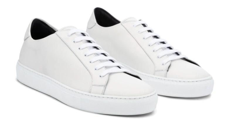 Ankari Floruss White Satruday Sneaker For Men