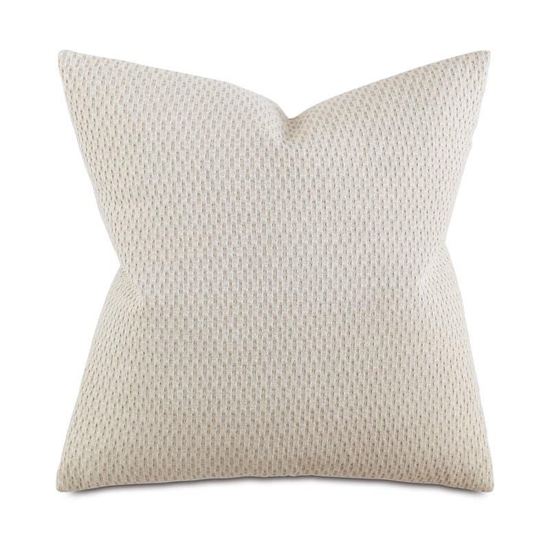 Brayden Custer Square Linen Throw Pillow