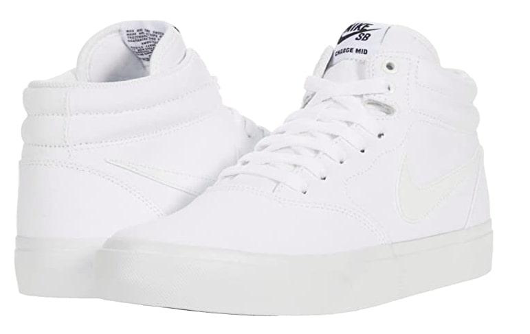Nike White High Tops Sneakers for Men