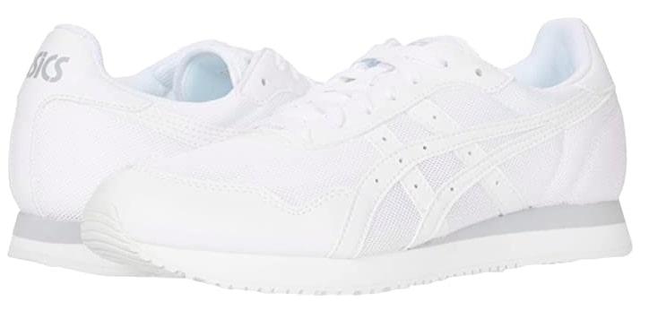 ASICS White Running Shoe for Men