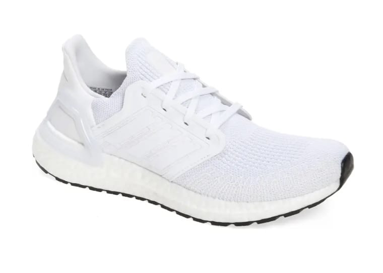 adidas ultraboost white sneakers