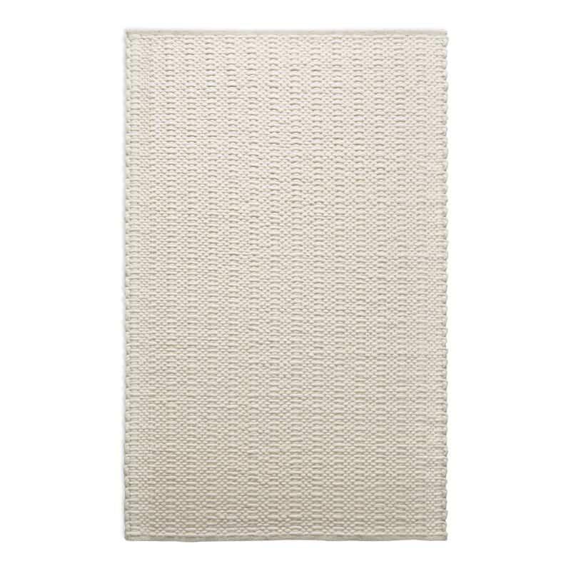 Uni Hand-Knotted Wool Cream Rug