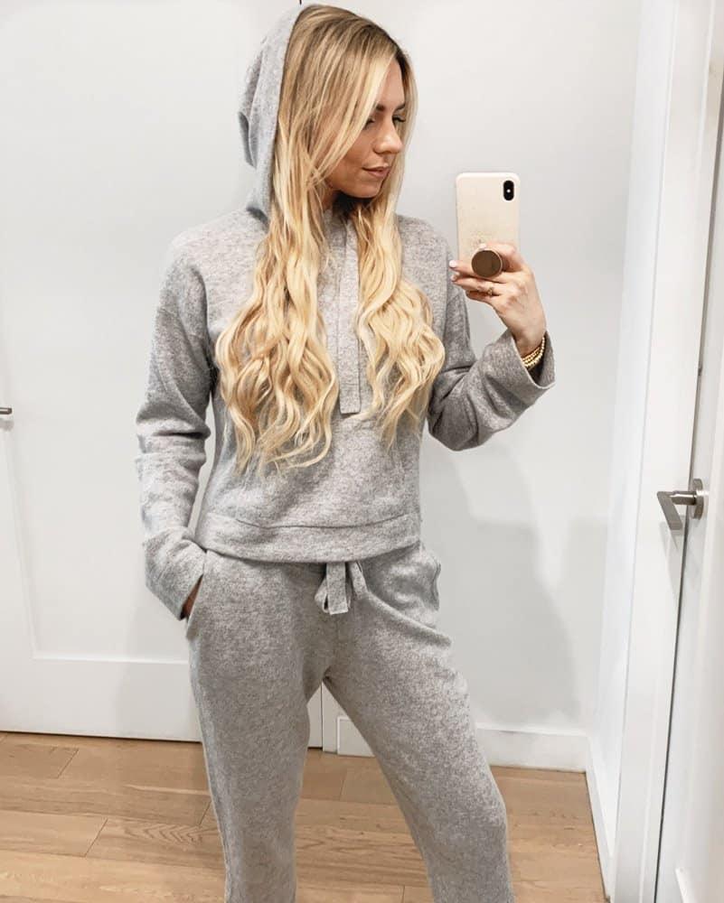 naadam cashmere hoodie review