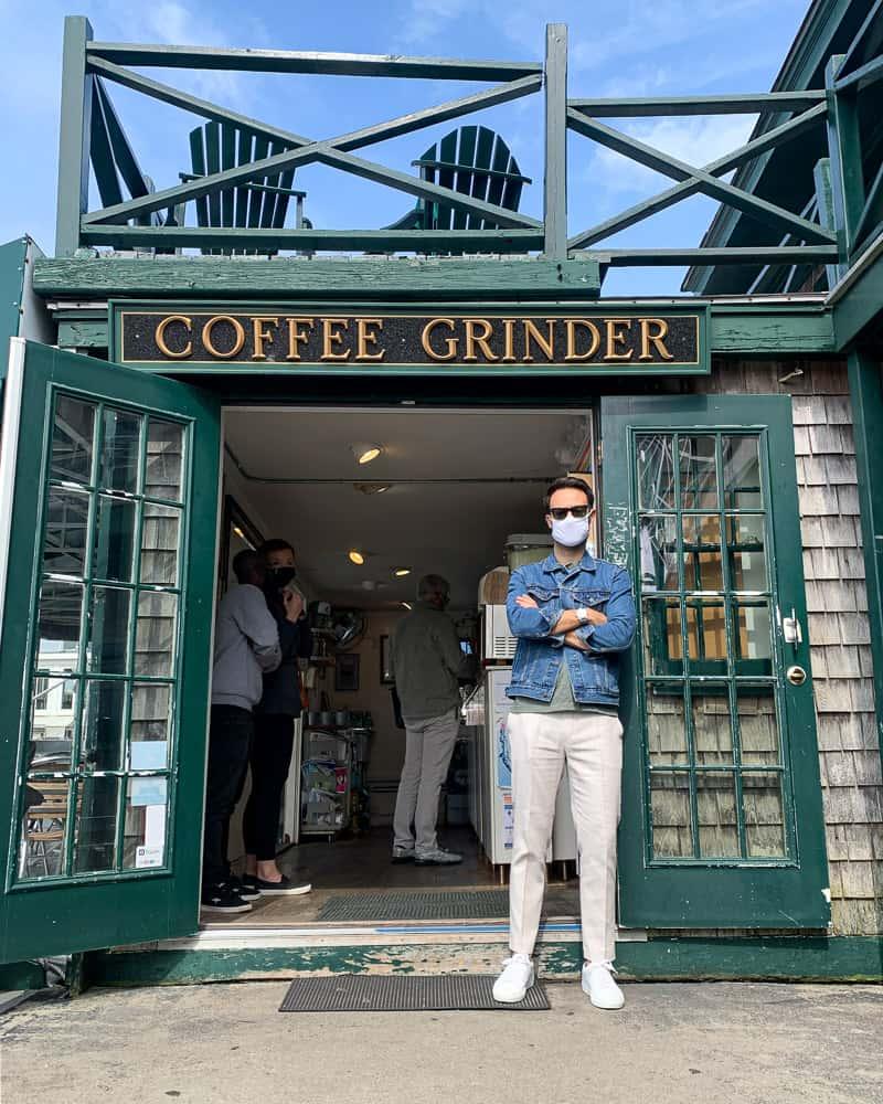 coffee grinder newport rhode island coffee shop