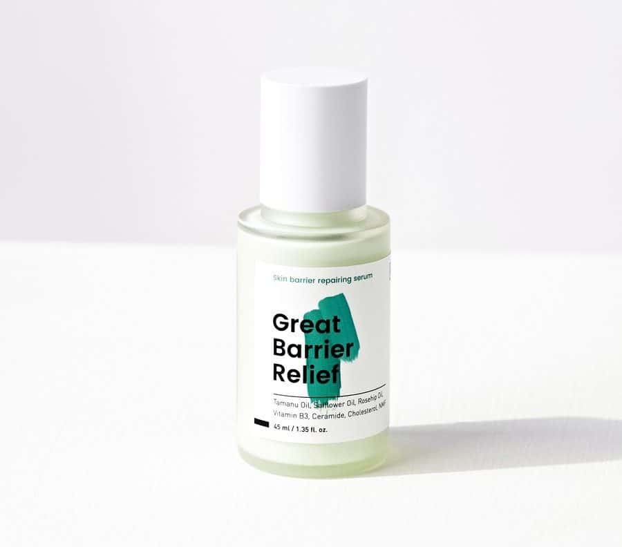 great barrier relief serum