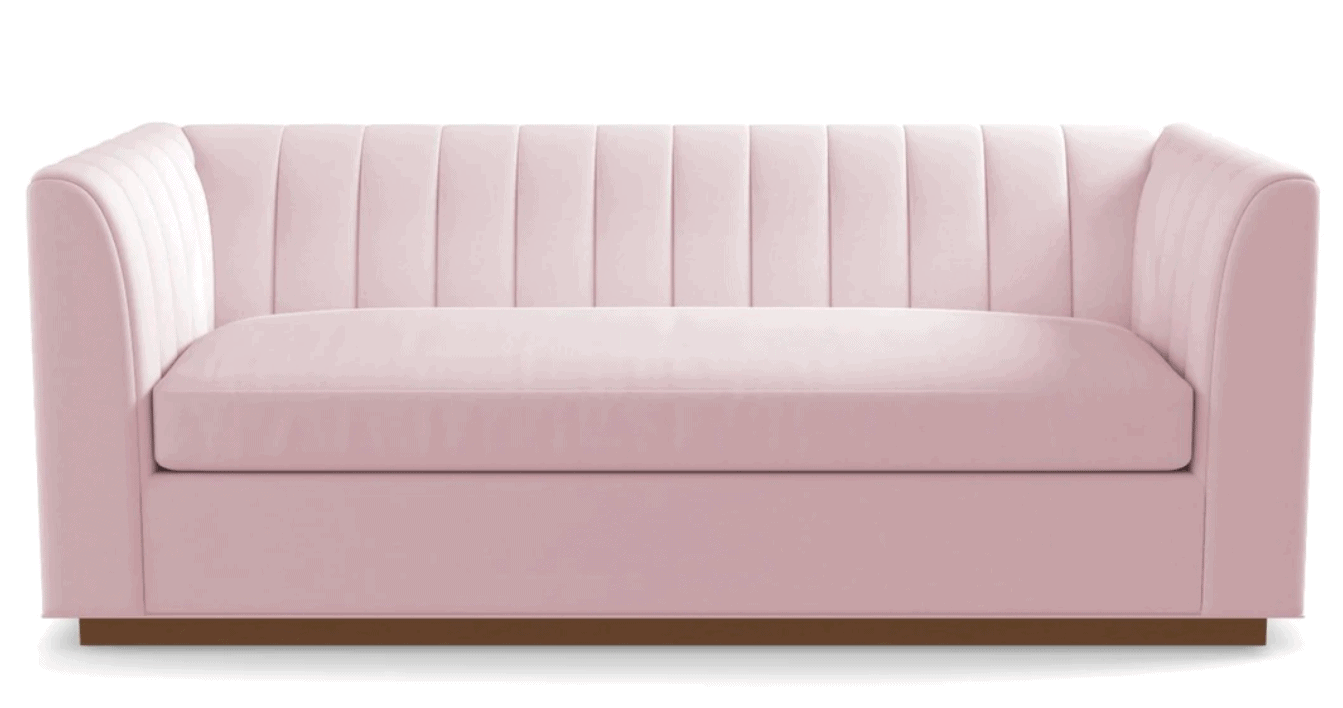 Sleeper Couch in Pink
