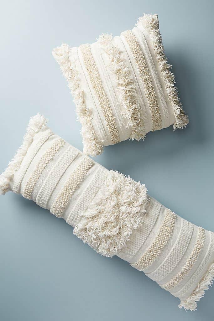 Textured Indira Pillow, Anthropologie
