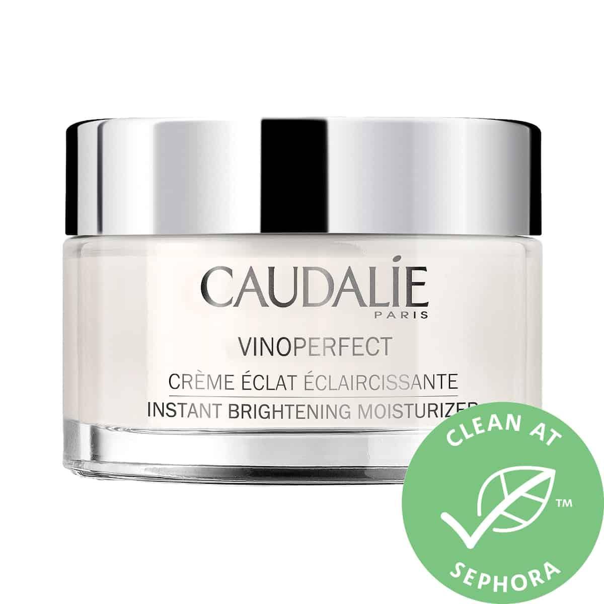 caudalie vinoperfect brightening moisturizer with niacinamide