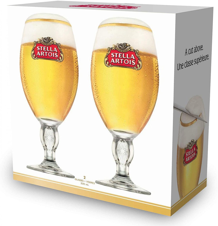 stella artois chalice 2 pack