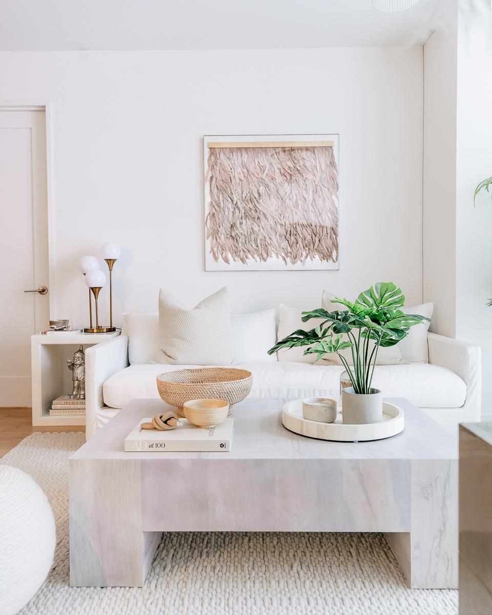 hotel inspired living room