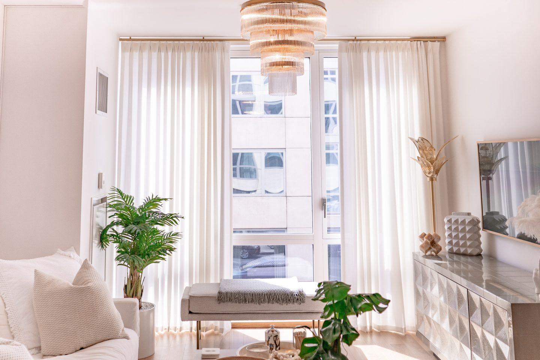 the shade store white sheer drapes