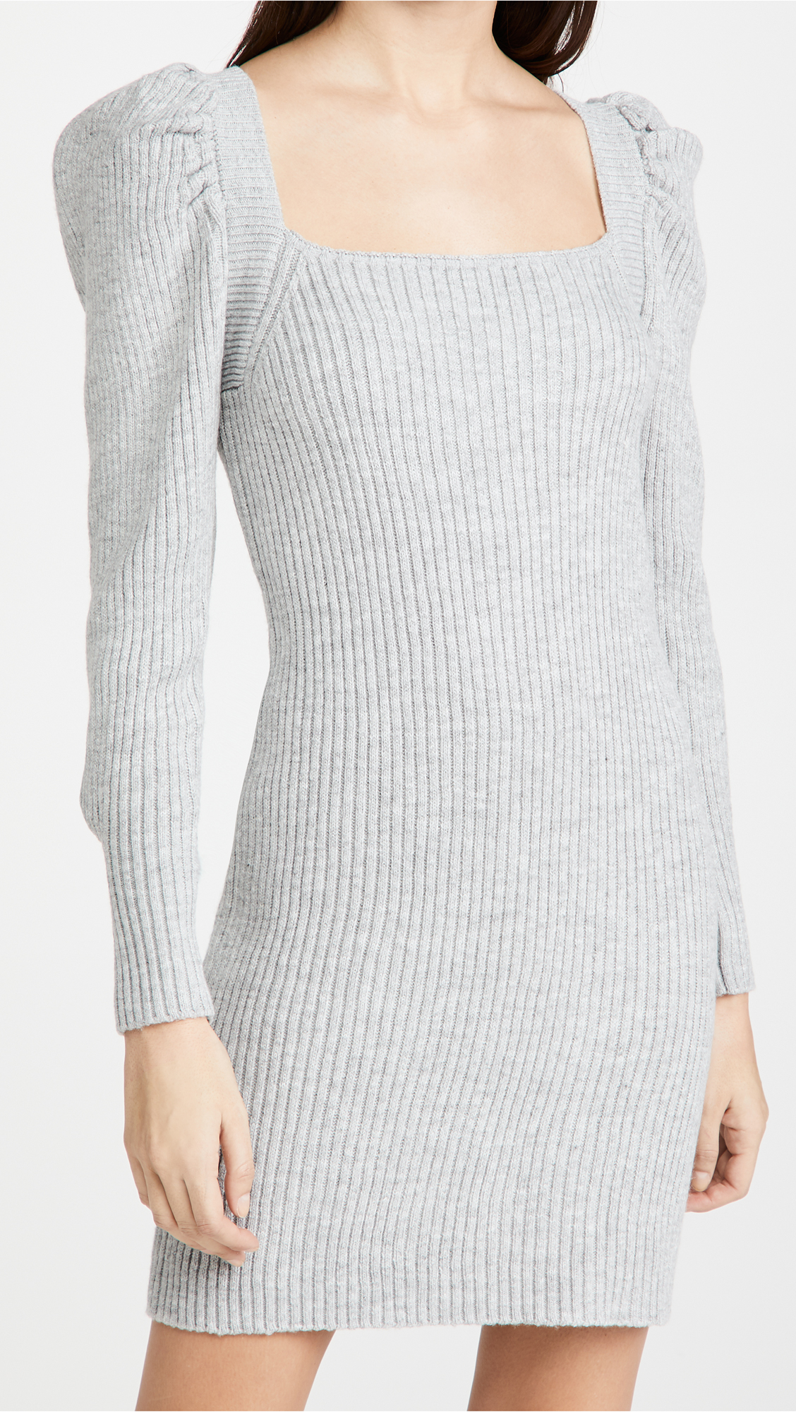 square neck sweater dress wayf