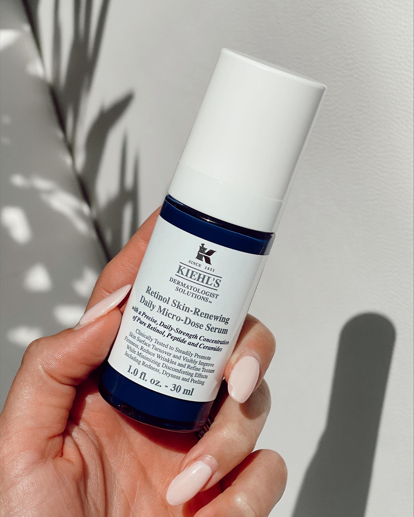 kiehls retinol microdose serum review
