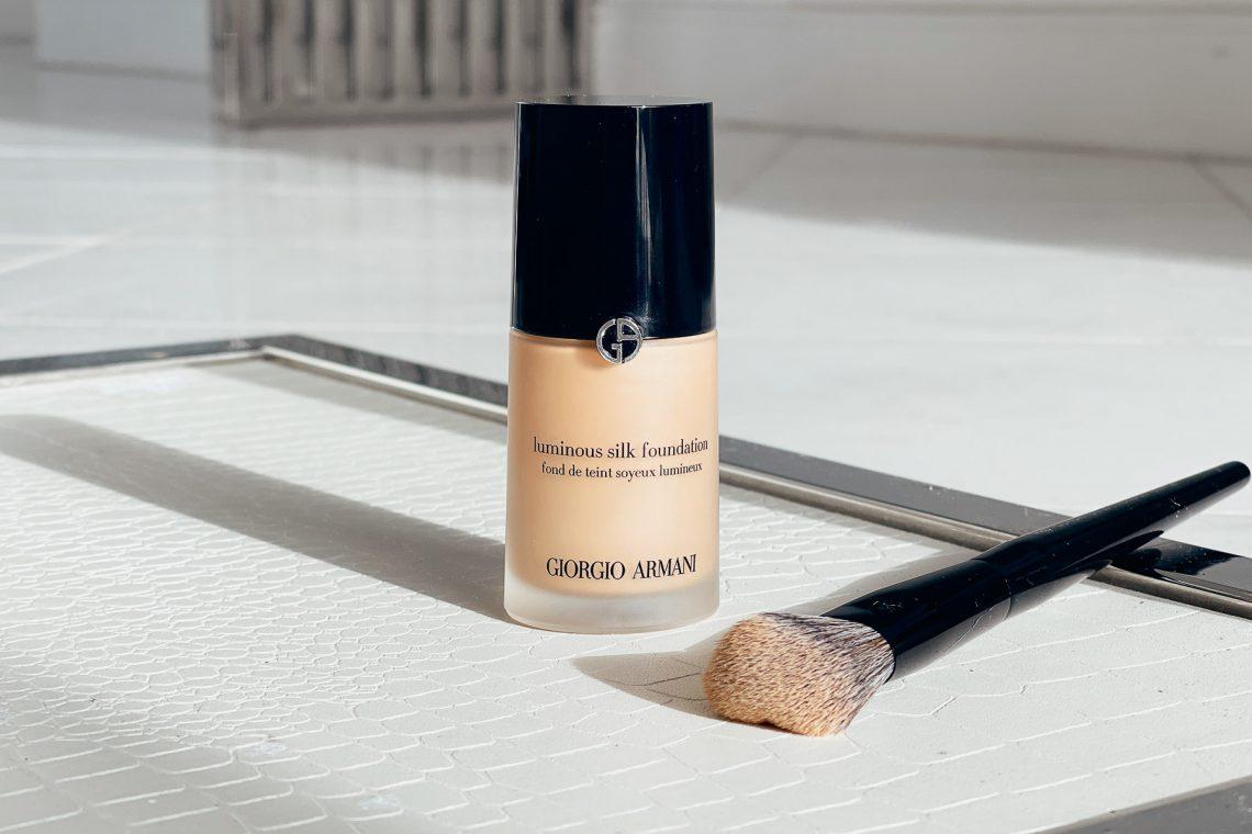 armani luminous silk foundation review